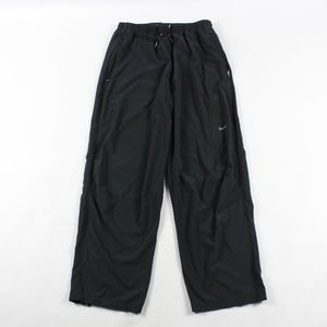 Nike Dri Fit Athletic Running Pants Black Mens M